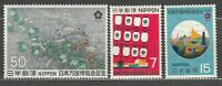 Japan - Mail 1970 Yvert 978/80 MNH Expo Of Osaka