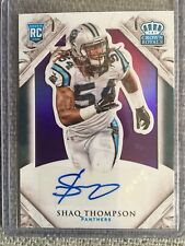 2015 Crown Royale Football #146 Shaq Thompson Autograph #11/25 Panthers