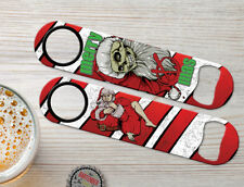 Xmas Edition Bad Santa Personalized Christmas Bartender Bar Blade Bottle Openers