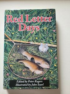 1st Edition FISHING BOOK by Peter Rogers HBK DJK  RED LETTER DAYS carp Pike...