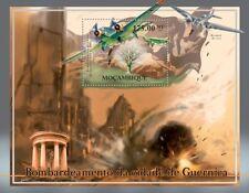 Luftwaffe JUNKERS Ju.52 & He.111 Aircraft Stamp Sheet/Guernica Spanish Civil War