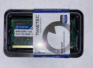 Timetec Hynix IC 8Gb Compatible For Apple DDR3 1333Mhz Pc3-10600 Memory MAC