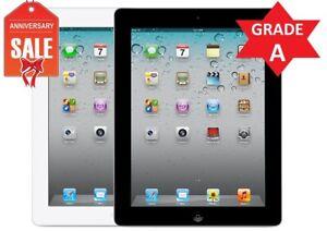 Apple iPad 2nd gen 64GB Wifi + 3G AT&T Unlocked (Black or White) - GRADE A