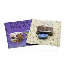 Decorazioni Pasquali per Casa Delle Bambole Egg Kit Con Stampo IN Silicone