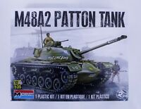 Monogram: U.S. Army M48A2 Patton Tank 1:35 Scale Plastic Model Kit NEW Sealed