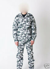 RUSSIAN ARMY MILITARY SPECIAL FORCE WHITE NIGHT CAMO UNIFORM BDU SUIT ALL SIZES