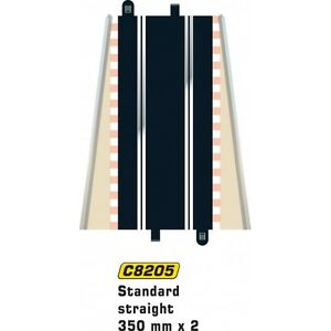 * Scalextric 8205 Standard Stright Track 350 mm x 2 1:32 Scale Accessory