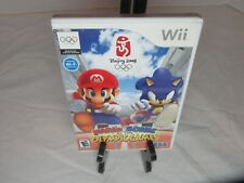 Mario and Sonic At The Olympic Games Nintendo Wii Complete Tested Works