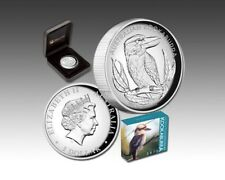 2012 ~1~OZ ~SILVER~ HIGH  RELIEF  PROOF ~ KOOKABURRA ~COA & BOX~ SCARCE ~ $88.88