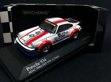 PORSCHE 934 #55 GT 300KM NURBURGRING 1976 EGT EBERHARD SINDEL MINICHAMPS 1/43