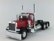 1/64 DCP RED/BLACK PETERBILT 379 DAY CAB