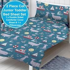 Zappi 'Sea' Junior Toddler Duvet and pillowcase Set