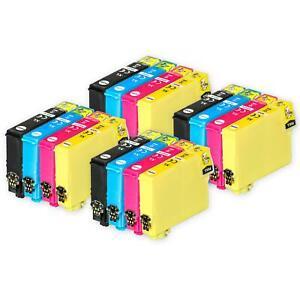 16 Ink Cartridges (Set) for Epson Stylus SX130 SX420W SX430W SX440W