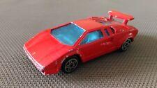 Véhicule Miniature Burago « Lamborghini Countach 5000 » 1/43 En Bon Etat.