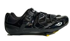GIRO Apeckx Mens Road Cycling Buckle Shoes Black US 12 EU 46 EXCELLENT Pre Owned