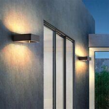 Outdoor PIR Motion Sensor LED Lights Garden Porch Wall Security Curve Lamps Hot