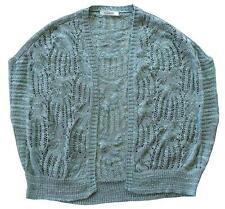Womens Shrug Cardigan Chainstore Knit Bolero Shawl Cardy Plus Sizes 8 to 20