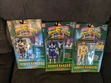1994 MMPR Power Rangers Flip Head Lot Billy Trini Zack NIB Banadi