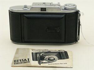 Voigtlander Bessa I (1950) w/ 105mm f4.5 Vaskar Lens 6x9cm With Case & Manual