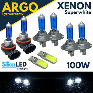 Audi A4 B7 Headlight Bulbs Fog Light Bulbs Sidelight Hid Led Xenon White Car 12v