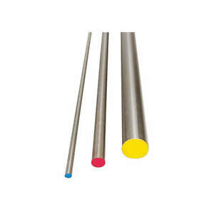 GRAINGER APPROVED A2D7166 Air Hard Drill Rod,A2,7/16,0.4375 In