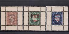 3 1944 WWII Nazi Propaganda KGVI AAAO Stamp GUMMED Reproduction Stamp sv