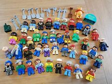 LEGO DUPLO 41 MINIFIGURES AND ACCESSORIES BUNDLE