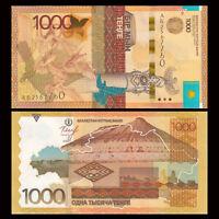 Kazakhstan 1000 Tenge, 2014, P-45a, With Signature, Banknote, UNC