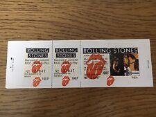 ticket concert Colletor Rolling Stones 1982