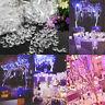 Kristall Perlen Vorhang Fenster Gardine Türvorhang Fadenvorhang Perlen Vorhang!