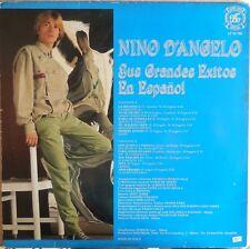 VINILE LP 33 GIRI RPM NINO D'ANGELO SUS GRANDES EXITOS EN ESPANOL LP IM 788 1984