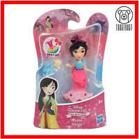 Mulan Mini Figure Disney Princess Little Kingdom Small Toy Snap-In Doll