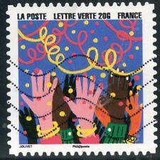 TIMBRE FRANCE  AUTOADHESIF OBLITERE N° 1194 / BONNE ANNEE / FETE DE FIN D'ANNEE