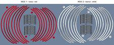 STRISCE per CERCHI 17-19 compatibili per MOTO DUCATI MULTISTRADA 950 dal 2017