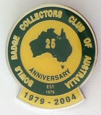 Bowls Badge Collectors Club Of Australia 2004 Anniversary Bowling Pin (M13)