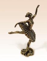 Miniatur Bronze Figur Ballerina # 1 Skulptur Kunst manuelle Verarbeitung...