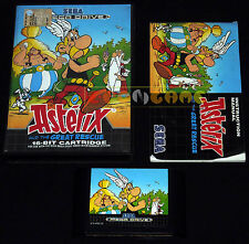 ASTERIX AND THE GREAT RESCUE Megadrive Md Versione Europea PAL ••••• COMPLETO