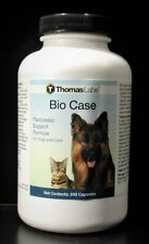 Thomas Lab BIO CASE Pancreatic Support Formula for Dogs and Cats 240 Capsules