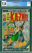 ASTONISHING TALES 18 CGC 7.0 Ka-Zar Romita Friedrich 1973 Jungle Comics