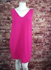 French Connection Pink V-Neck Sheath Dress Size 12
