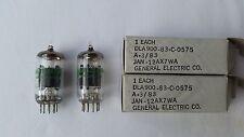 2x generale electrictubes, condotti, Valves 12ax7wa, ecc83, e83cc, NOS NIB