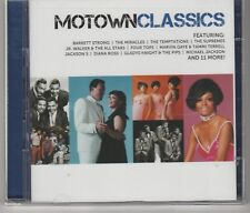 V.A.Icon: Motown Classics 2 Cd's Marvin Gaye, Stevie Wonder, Four Tops Sealed.