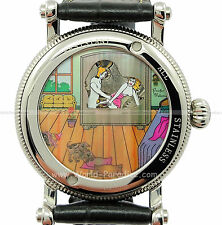 Montre érotique mécanique / Erotic watch sex scene Kamasutra FREE SHIPPING !!!!!