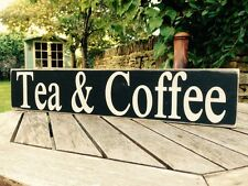Tea & Coffee sign kitchen vintage Shop Cafe Bar Pub Hotel party old