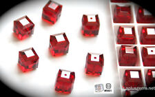 SALE! Authentic #5601 Swarovski Crystal Cube Square Beads 6mm pick colors 10pcs