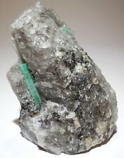 1.3 lbs Emerald beryl crystals Dayakou Mine China Gemmy Green Cabinet Display