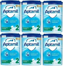 APTAMIL - 2 Follow On Milk - 6 to 12 Months - 800g (Pack of 6)