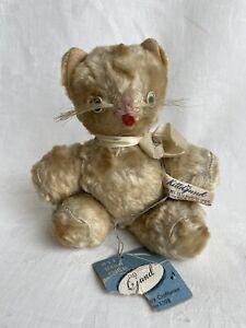 "Vintage GUND CREATIONS SWEDLIN NYC ""KItti"" Cat Musical Wind Up Plush Stuffed Toy"
