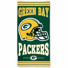 "NFL Green Bay Packers A1874515 Fiber Beach Towel, 30"" x 60"""