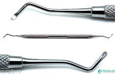 Dental Excavator 18W Restorative Double Ended Spoon 1.5mm Premium Instruments